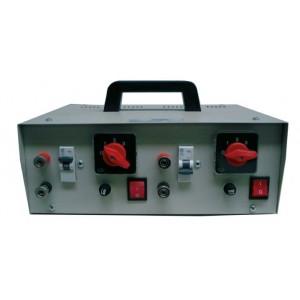Μηχανηματα Ελιας - ΜΕΤΑΣΧΗΜΑΤΙΣΤΗΣ ΔΙΠΛΟΣ ΓΙΑ ΗΛΕΚΤΡΙΚΕΣ ΒΕΡΓΕΣ (220V - 12V) AGRO