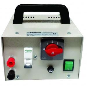 Μηχανηματα Ελιας - ΜΕΤΑΣΧΗΜΑΤΙΣΤΗΣ ΜΟΝΟΣ ΓΙΑ ΗΛΕΚΤΡΙΚΗ ΒΕΡΓΑ (220V - 12V) AGRO